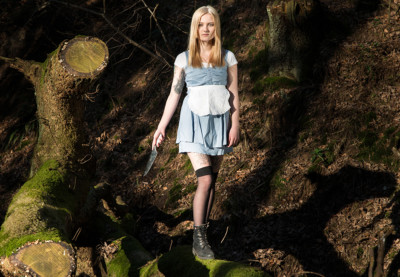 Alice im Wunderland Fotoshooting
