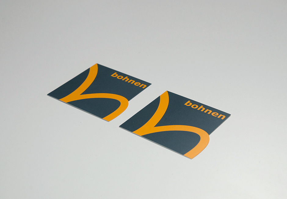 bohnen IT Visitenkarten Deckseite